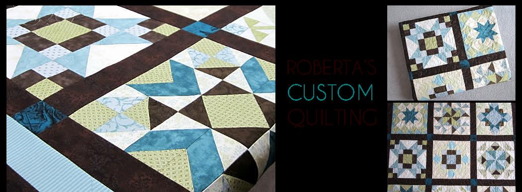 Roberta's Custom Quilting