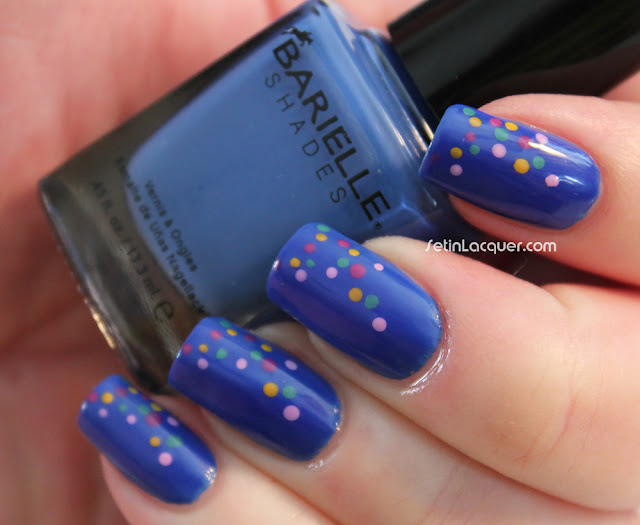 Dotticure using Barielle Summer Brights Collection