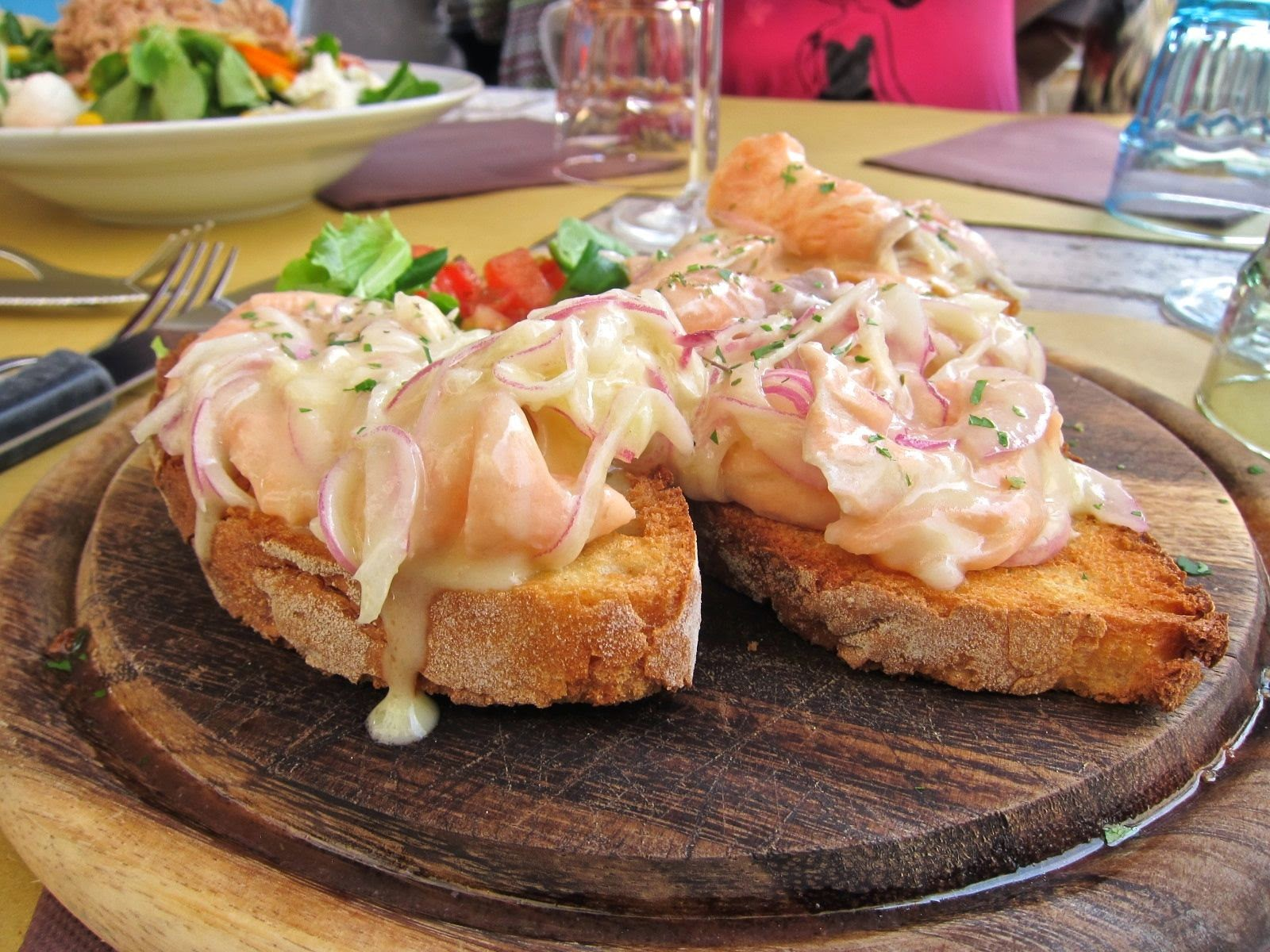 Tuna Crostini in Florence Italy