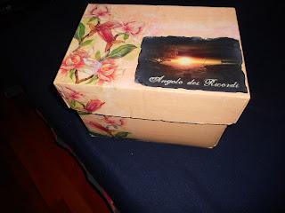 decoupage scatola