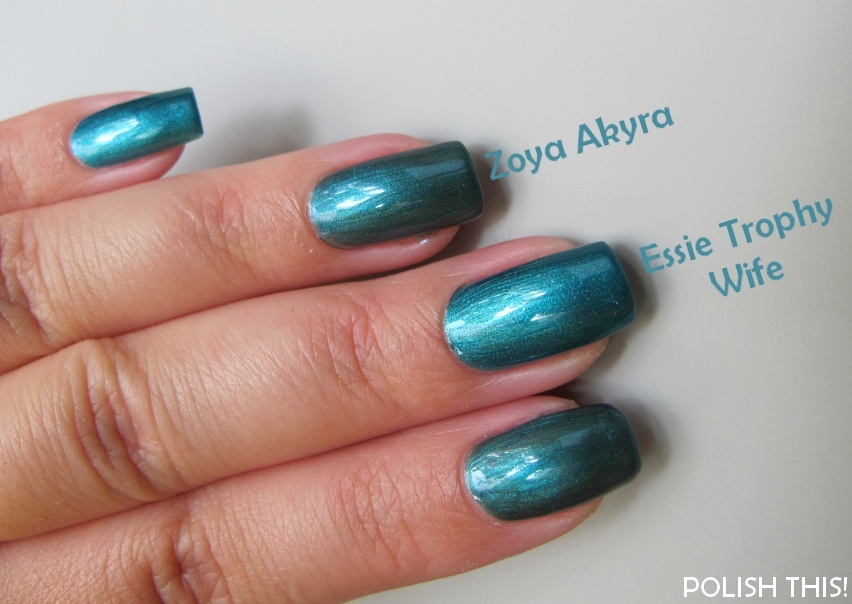 Nail Polish Battle: Essie Trophy Wife vs. Zoya Akyra and China Glaze ...
