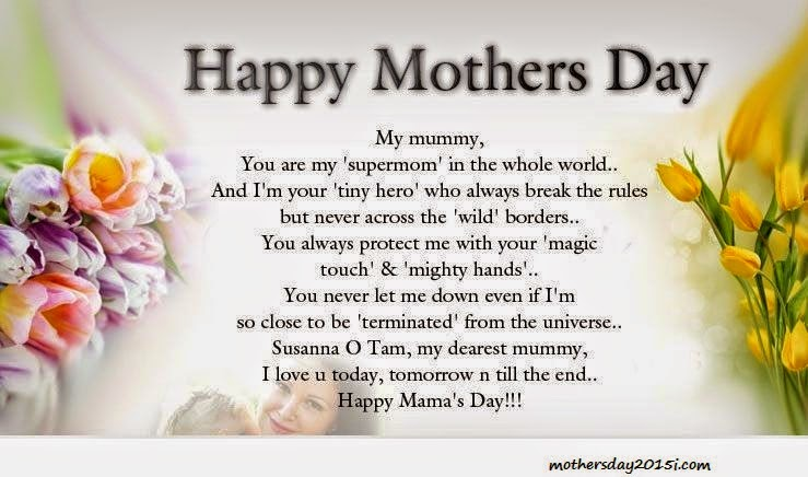 Mother Day 2015 Poem