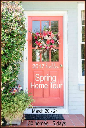 Join 21 Rosemary Lane along with 29 other bloggers for a Spring Home Tour series March 20th- 24th