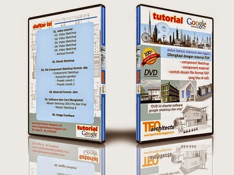 DVD Tutorial Google Sketchup Indonesia