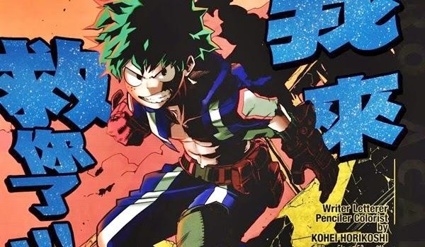 Boku no Hero Academia (Páginas Coloridas) - Kouhei Horikoshi