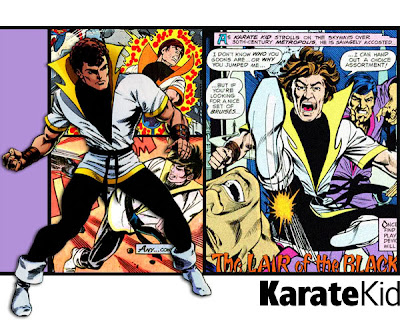 Karate Kid, Legion of Superheroes,