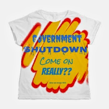 Government Shutdown Women's All Over Print T-Shirt