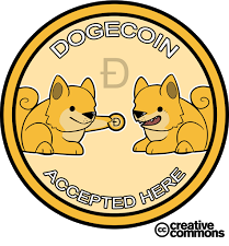 Aquí recibimos y damos Dogecoins