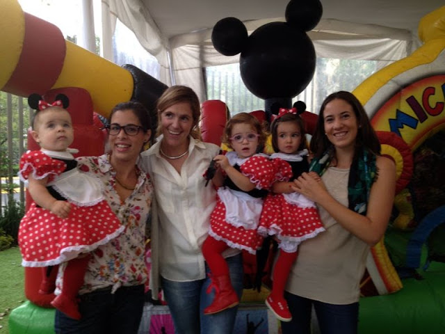 Cumpleaños infantil de Minnie Mouse