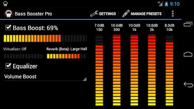 Bass Booster Pro v2.4.1 Apk