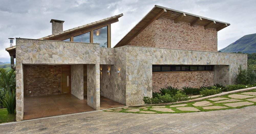Casa en la monta a david guerra arquitectura e interior - Casas en la montana ...