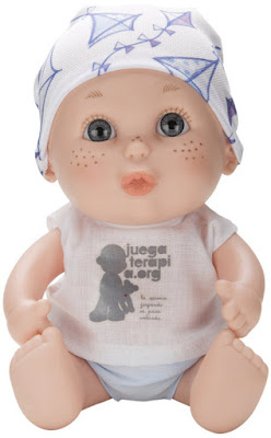 JUGUETES - Juegaterapia : Baby Pelones Muñeco Alba Carrillo Producto Oficial 2015 | Berjuán 0145 | A partir de 3 años