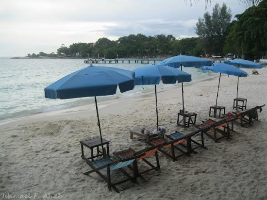Ao Cho Beach of Koh Samet Island