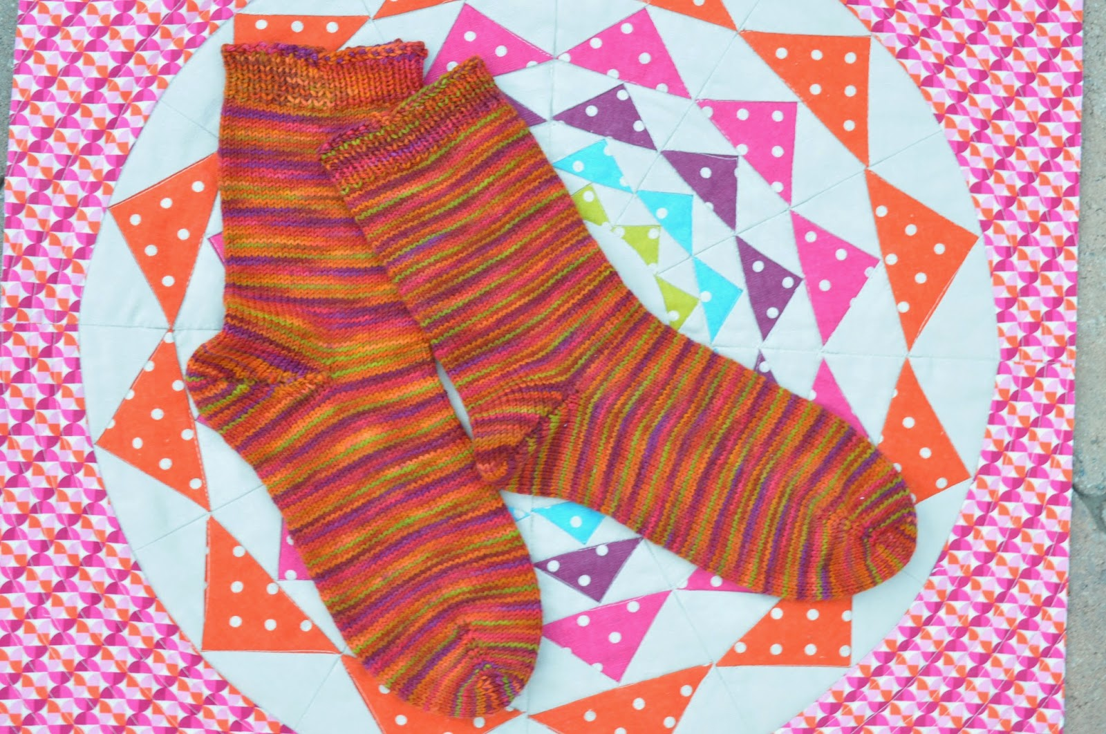 Mountain Colors Handpainted yarn Poppy Trail