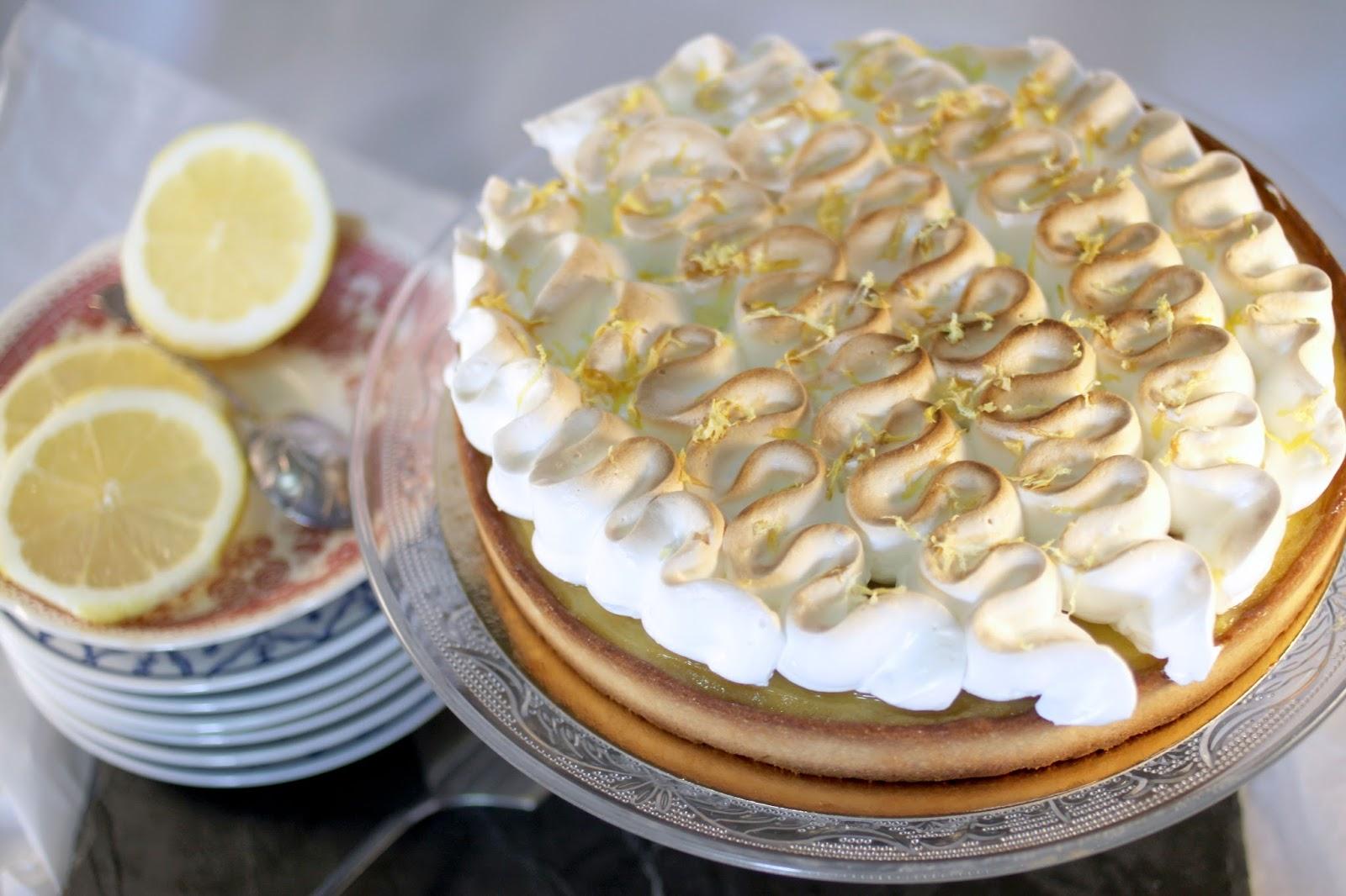 Chlo d lice tarte au citron meringu e - Recette tarte citron meringuee ...