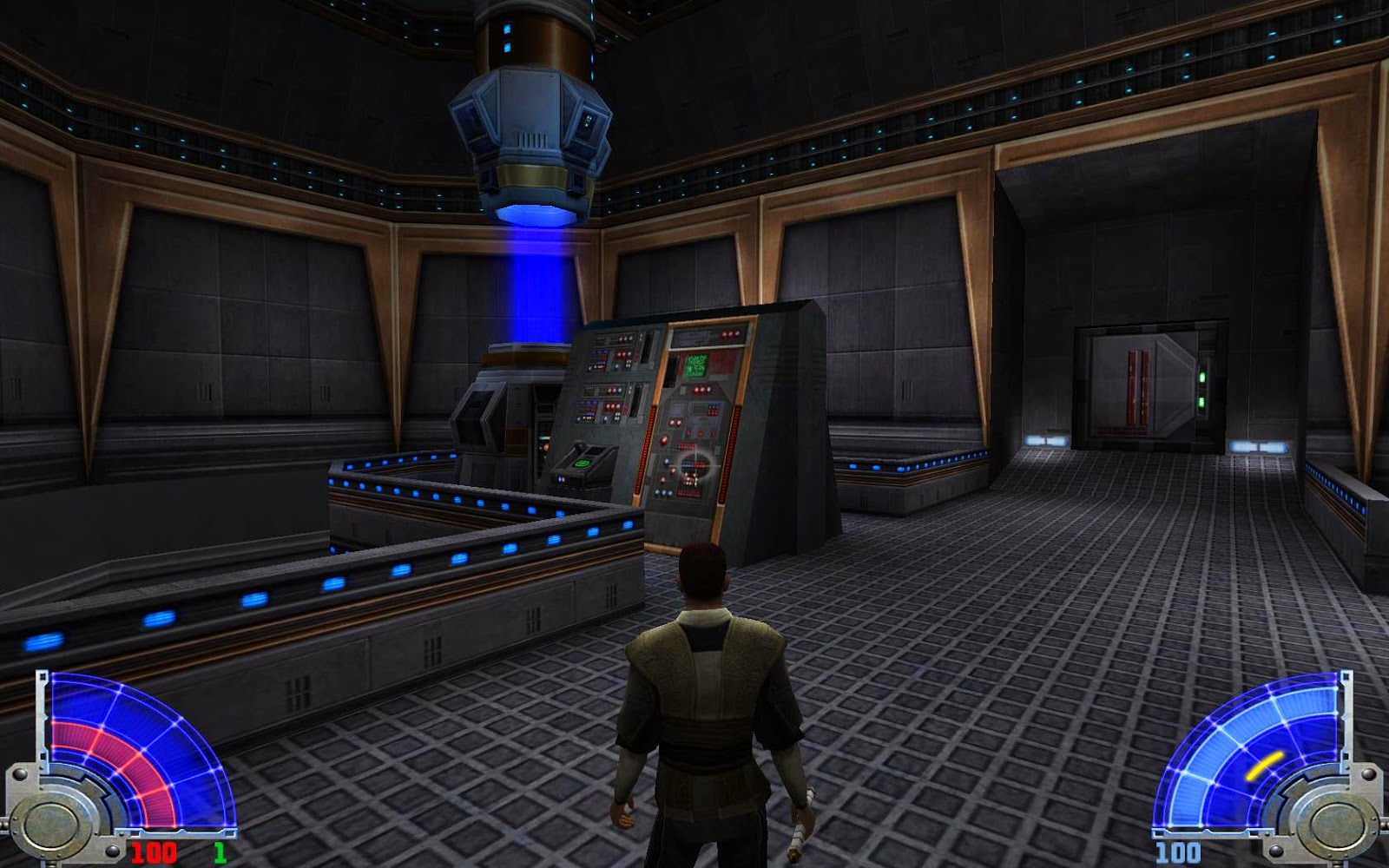 how to get past the rancor in kotor