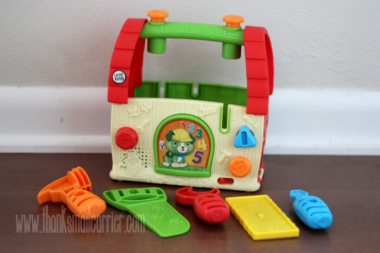 LeapFrog Scout's Build and Discover Tool Box review