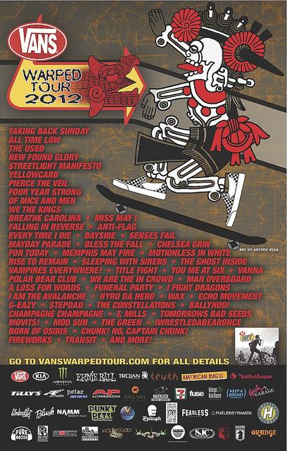 Warped tour dates