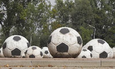 Balones reglamentarios de fútbol
