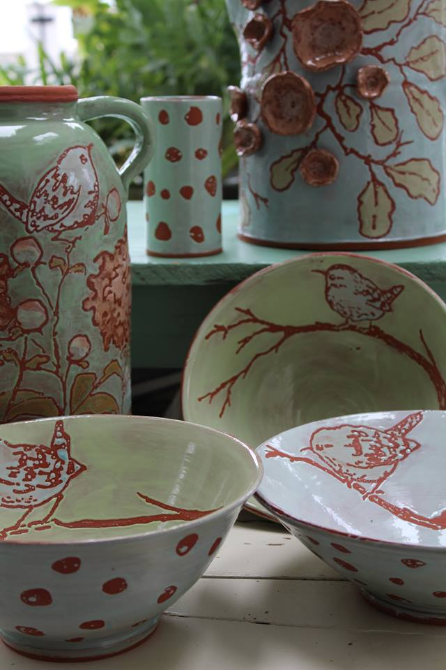 White Wren Pottery at the Willow