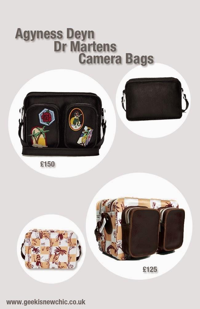 Agyness deyn dr martens Camera bags
