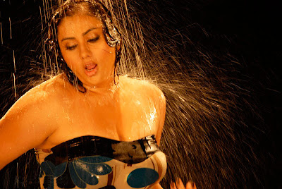 Hot Tamil Actress Namitha Hot Cleavage