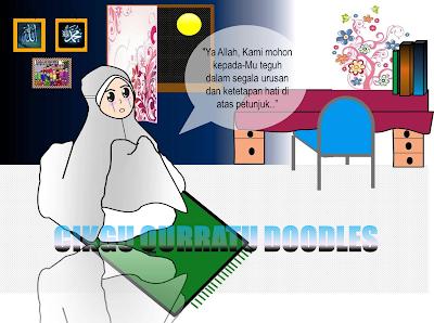 Doodle Berdoa-Istiqamah