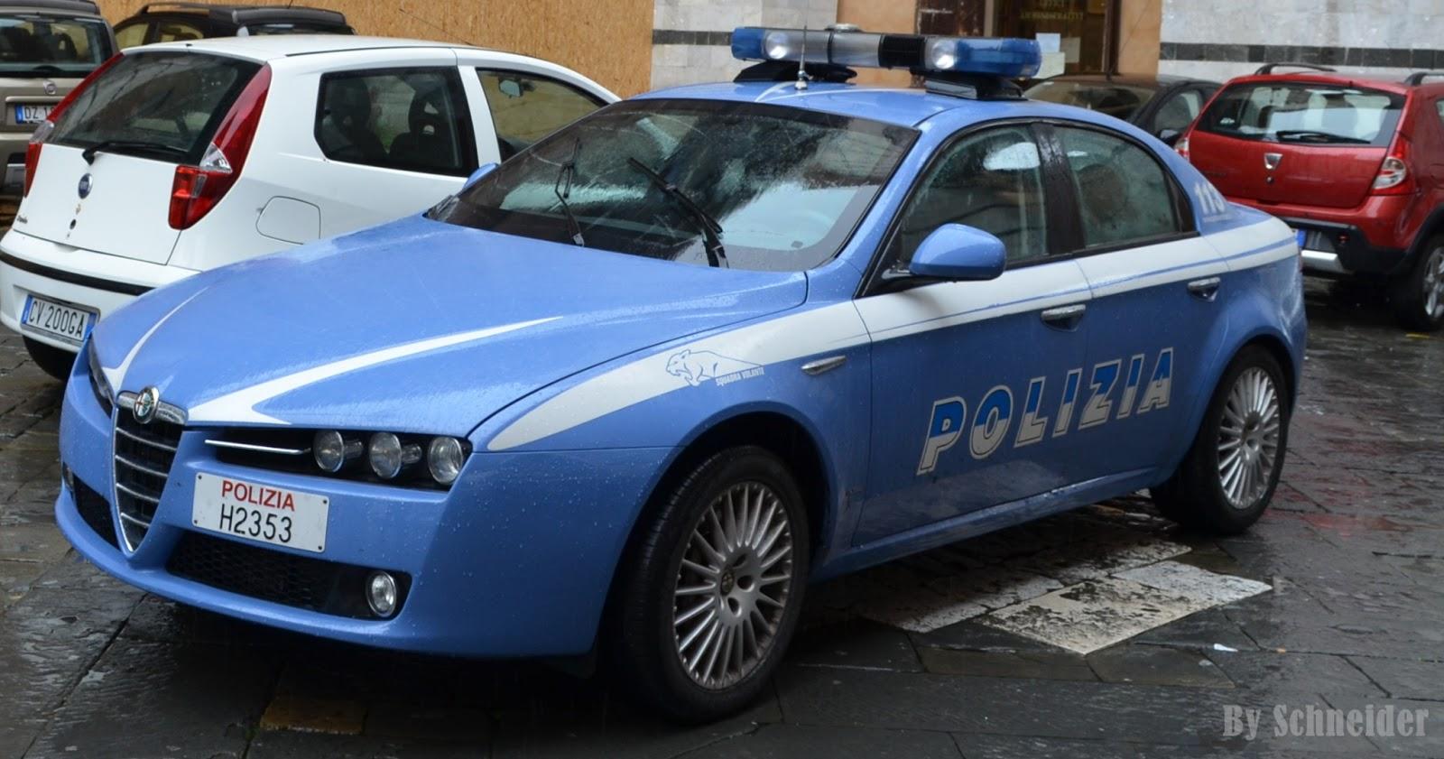 ALFA ROMEO 159 - POLÍCIA DE SIENA - ITÁLIA