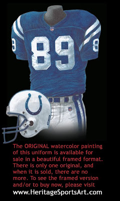 Indianapolis Colts 2001 uniform