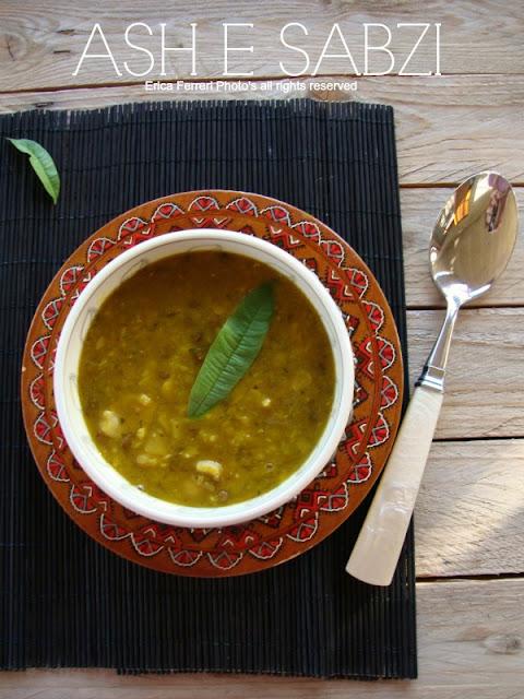 ricetta zuppa persiana has e sabzi