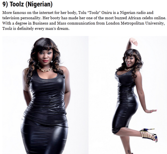 Meet the 20 Most Curvy African celebs. List includes 7 Nigerians ...