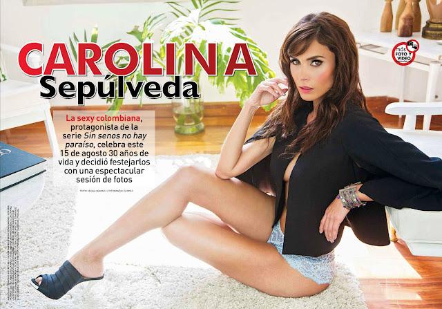 Carolina Sepúlveda Revista TVyNovelas