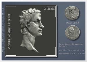 Galerie Porträts römischer Kaiser und Persönlichkeiten auf Münzen