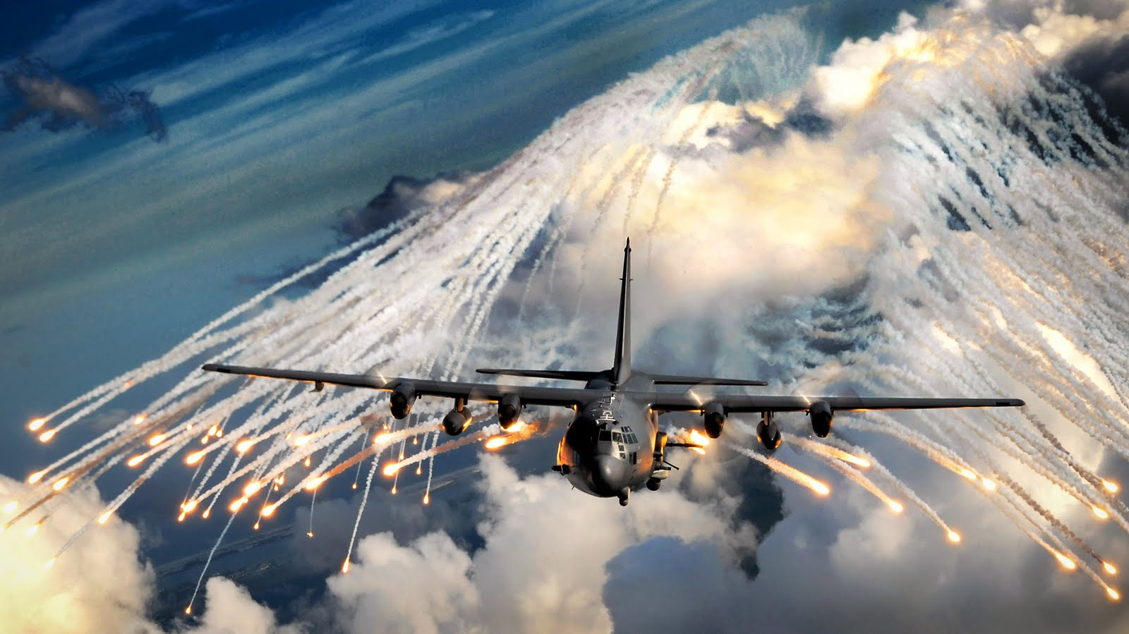 The AC130 Gunship in Action  Militarycom