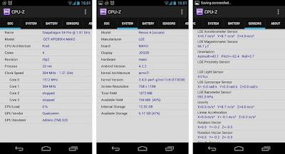 Cara Mengetahui Spesifikasi HP Android Secara Detail Dengan Aplikasi