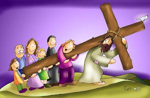 La cruz, con otros, pesa menos