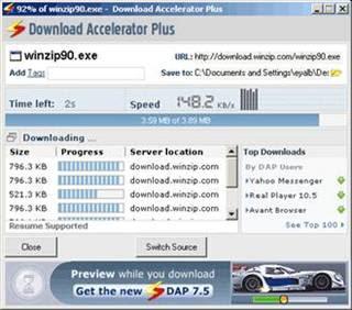 download accelerator plus free download full version