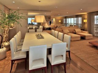 dicas de como decorar uma sala de jantar