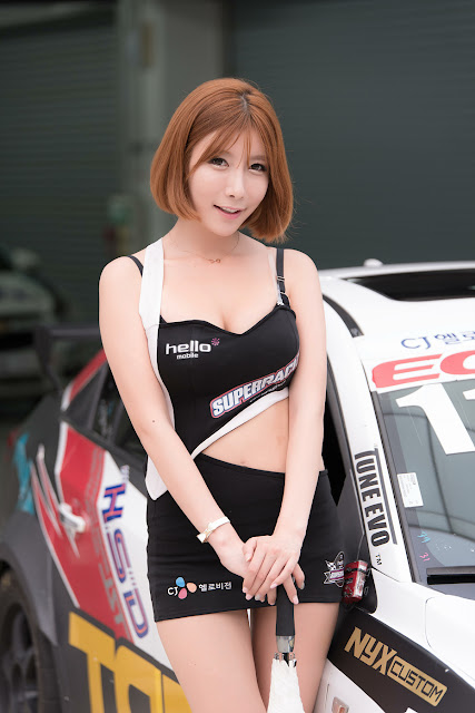 5 Park Yu Ju - CJ Super Race R5 - very cute asian girl-girlcute4u.blogspot.com
