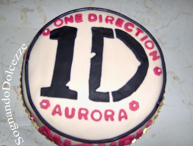 Torta One Direction Per Aurora