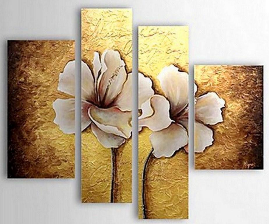 Arte pinturas leo cuadros abstractos modernos for Tipos de arboles decorativos