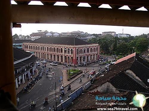 معالم مدينة مارغاو الهندية
