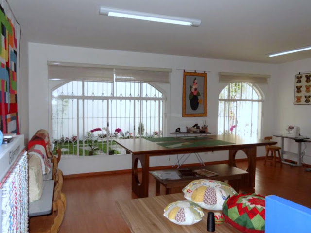 Sala de aula do Maria Adna Ateliê