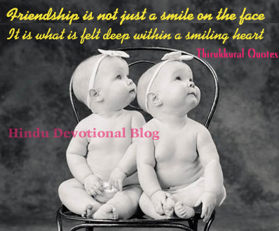 friendship quotes from thirukkural a collection of 1330 tamil