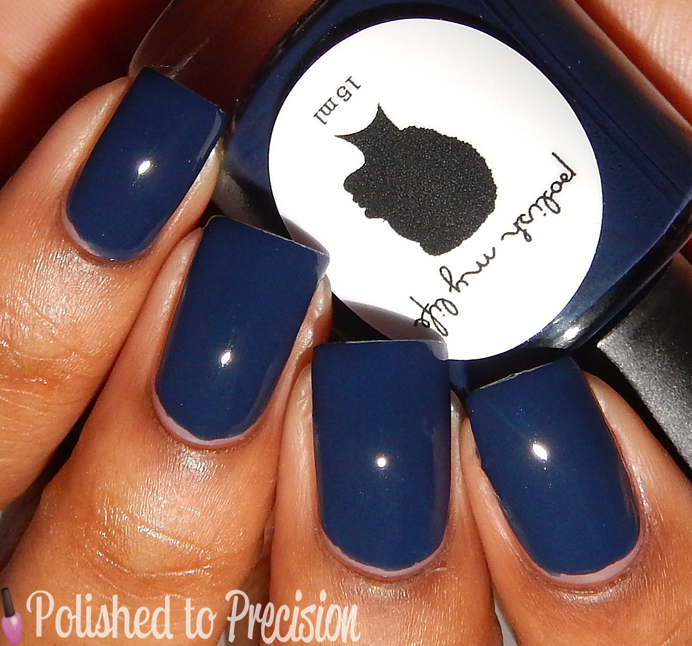 Polish My Life Blue Pansy