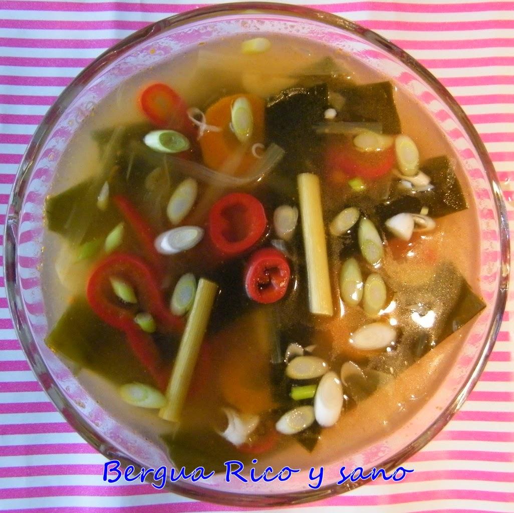 Comer rico y sano: Sopa cítrica japonesa (Dashi) - photo#13