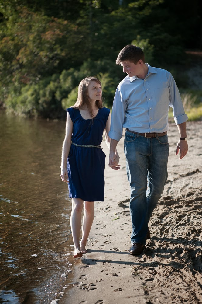 Boro Photography: Creative Visions, Sneak Peek - Amelia and Mathew, Island Pond, New Hampshire Engagement