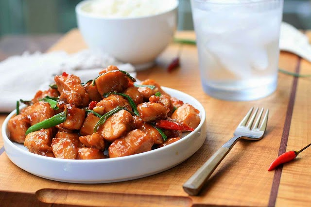 Caramelized Spicy Chicken | Vietnamese Recipes