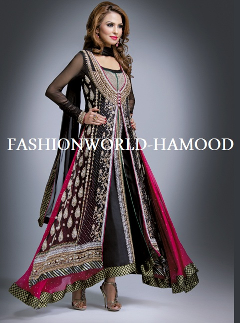 Maxi dress designs in pakistani