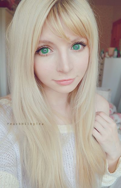 Super Bright Green Circle Lenses : Dolly Eye Starry Eye Green
